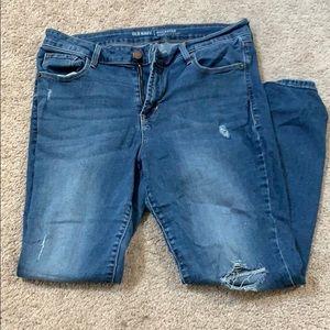 Rockstar Mid Rise Jeans